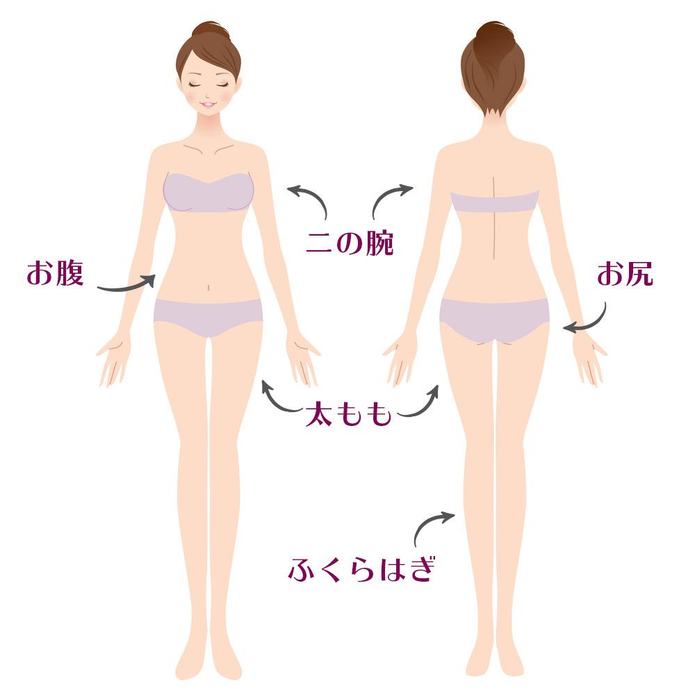 東京銀座のレティシアクリニック Re・Body 我慢しないダイエット・痩身